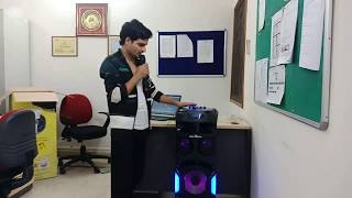 """BEST KARAOKE MUSIC SYSTEM - Jack Martin Inferno 10"""" Bluetooth Speaker System with LED Screen Display"""
