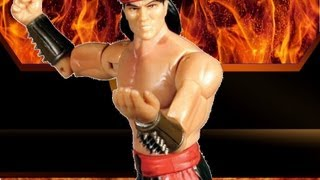 Mortal Kombat Liu Kang Action Figure Toy Review