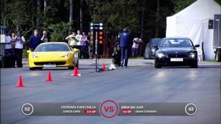 Ferrari 458 Italia vs BMW M6