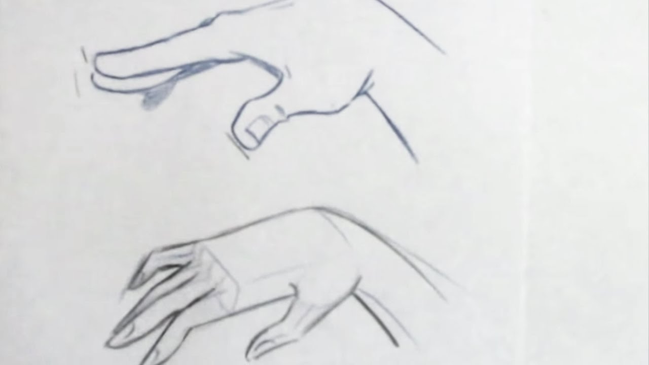 How to draw the female hand for beginners youtube