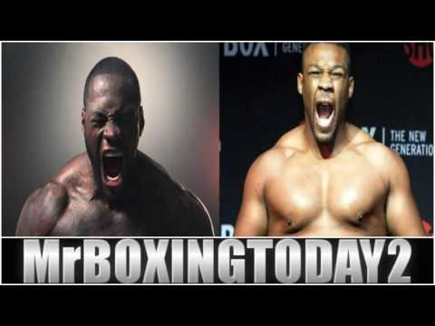 Deontay Wilder vs Jarrell Miller My Thoughts On Their Heated Radio Interview