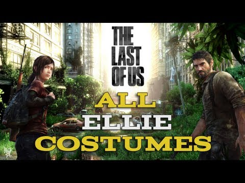 The Last Of Us - All Ellie Costumes