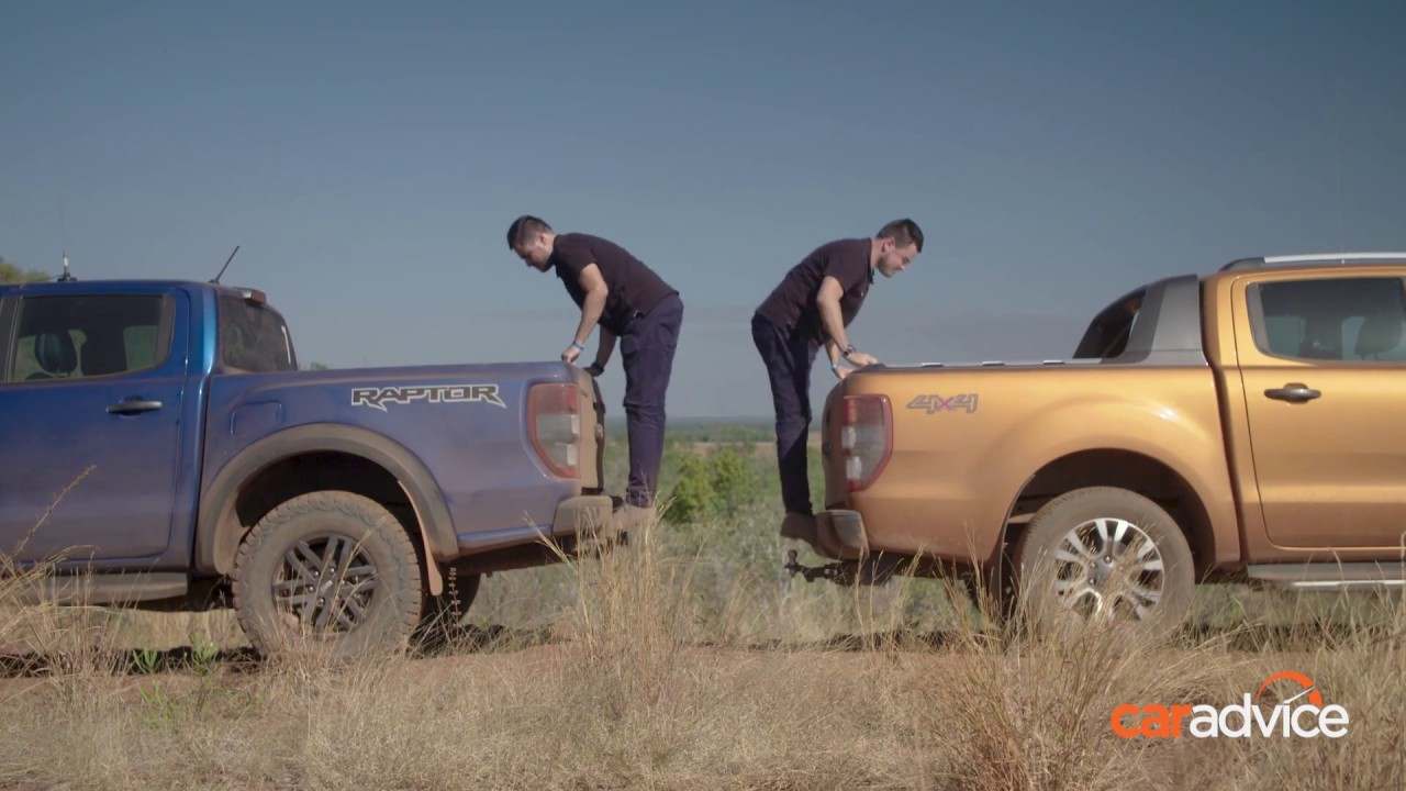 Ford Ranger Raptor V Ranger Wildtrak Suspension Travel Youtube