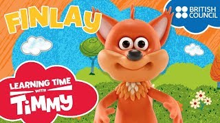 Meet Finlay | Learning Time with Timmy | Cartoons for Kids