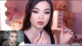 recreating makeup