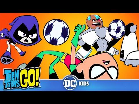Teen Titans Go! in Italiano   Il Golden Goal   DC Kids