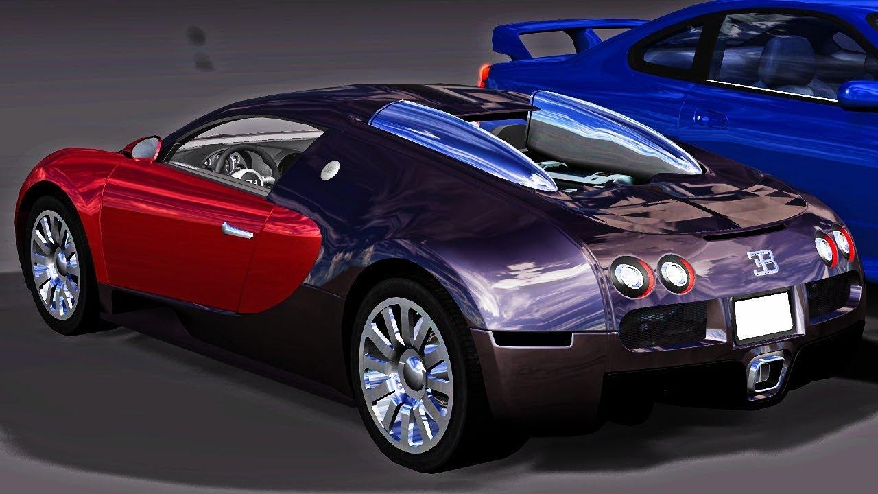 Bugatti Veyron and Nissan Silvia s15 Showcase - BeamNG drive - YouTube