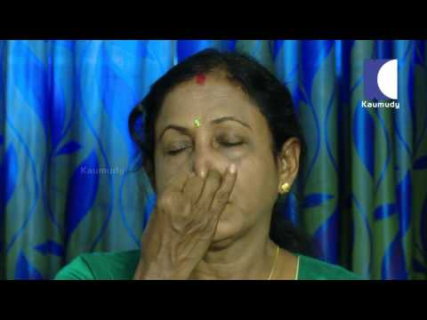 Yoga Instructor Beena Prakash of Sadguru Yoga Centre   LADIES HOUR 21-06-2016