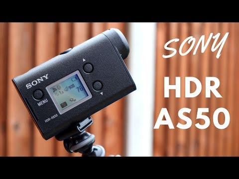 Sony HDR AS50 Action Camera - A Brilliant Action Cam