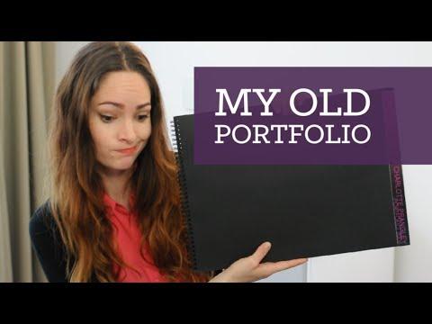 My old design portfolio (cringe!) | CharliMarieTV