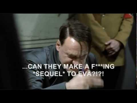 Hitler hears about Rebuild of Evangelion