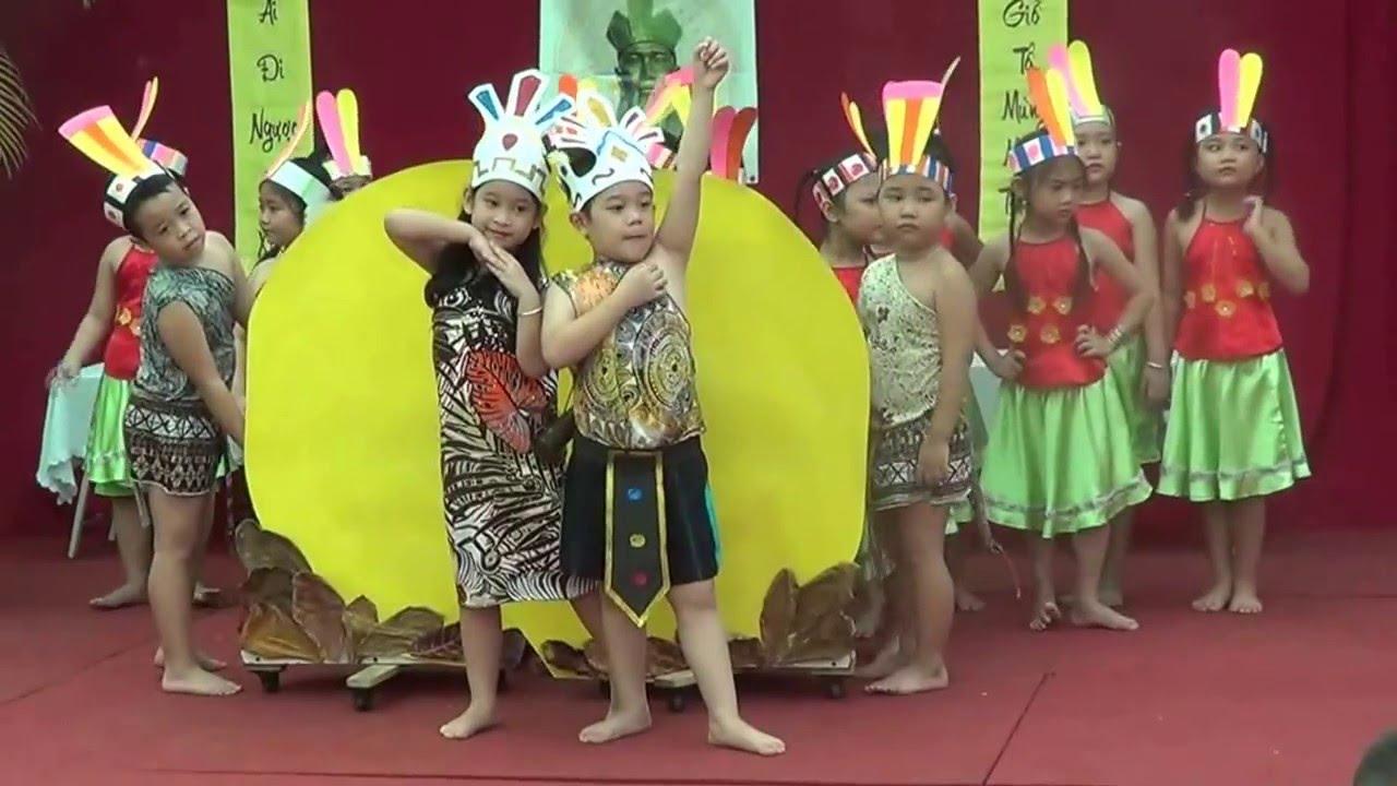 Trường Mầm Non 5 lễ giỗ tổ Hùng Vương 2016