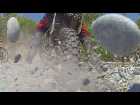 Dirt Biking at Lake Ontario