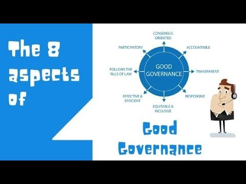 8 aspects of Good Governance
