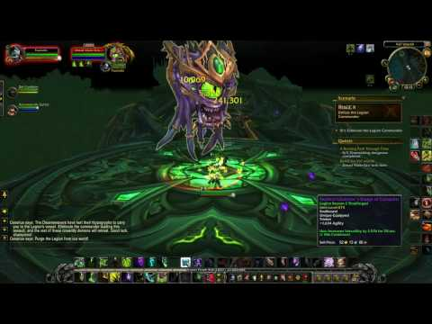 World of Warcraft Legion Assault on Val'sharah Complete Guide (Defending Broken Isles) |