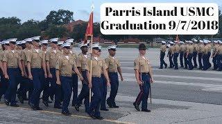 Marine Corps Graduation Parris Island - Kilo & November Companies - September 7, 2018