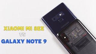 So sánh Samsung Galaxy Note 9 vs Xiaomi Mi 8 EE: Xứng danh 2 siêu phẩm