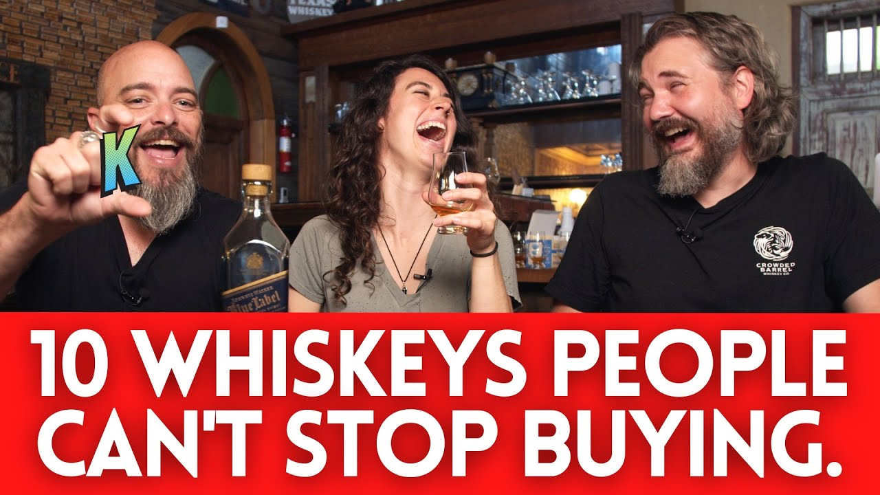The 10 Most RE-ORDERED Whiskeys (Insider Data Delivers a NOICE Father's Day Gift)
