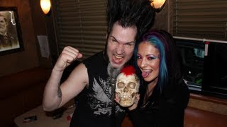 Wayne & Tera Wray Static - Static-X Interview at Sokol Auditorium - Backstage Entertainment
