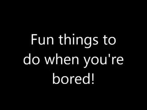 10 Fun Things To Do When You Re Bored Ideas For Kids Youtube