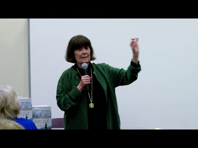 Genealogy Club: Irish Above All, with author Mary Pat Kelly – June 13, 2019