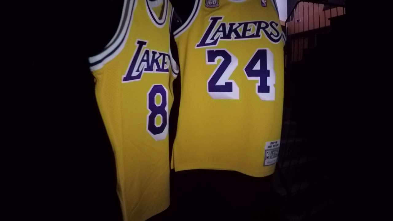 71d2a8bde86 Mitchell   Ness Authentic Jerseys NBA - YouTube