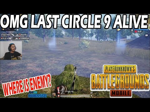 😱 OMG 9 ALIVE IN LAST CIRCLE | RAREST CIRCLE IN PUBG MOBILE | WHO WILL WIN ? MUST WATCH