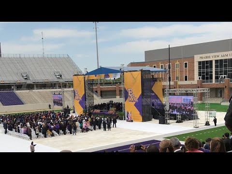 Inauguration of the 1st Female President of PVAMU!