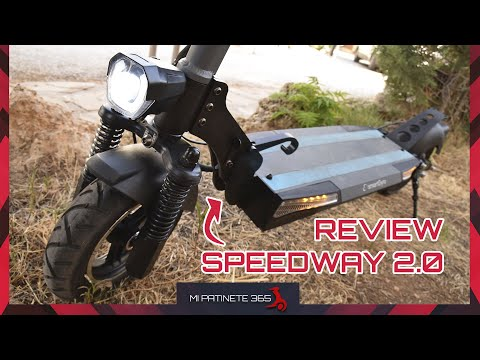 Review SpeedWay 2.0 🛴 El patinete todoterreno por 550€ de smartGyro