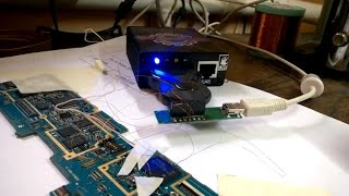 Прошивка новой eMMC Samsung N8000 Z3X после замены флешки, восстановление boot