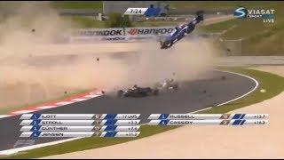 Худшие катастрофы всех времен - F1, Indycar, F3000.