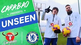 Find Out Who's Looking Sharp, Go Behind-The-Scenes of David #Luiz & #Giroud Show | Chelsea Unseen