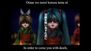 【Miku・Rin・MEIKO】 Greetings From The Bottom Of The Well 【English & Romaji Subs】
