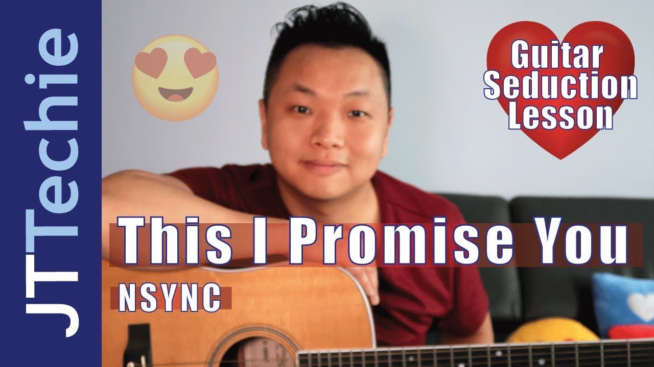 How To Play This I Promise You By Nsync On Acoustic Guitar No Capo