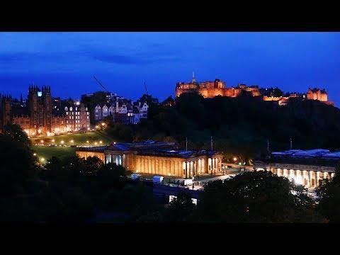 蘇格蘭~愛丁堡悠遊… Calton Hill*城堡