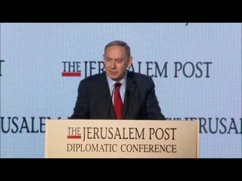 PM Netanyahu Speaking About SACH At The Jerusalem Post