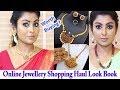 Instagram Jewellery Shopping Haul- Look Book in Tamil |Must Have Jewellery for Wedding Season