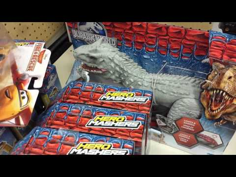 Quick Look Jurassic World Toys At Target Youtube