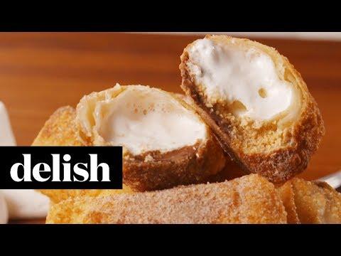 S&39;mores Egg Rolls  Delish