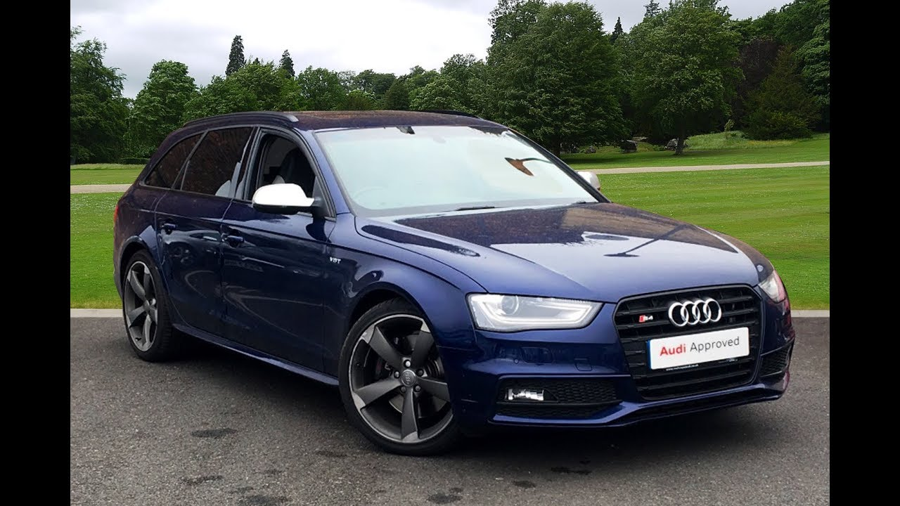 de14eew audi a4 s4 avant quattro black edition blue 2014. Black Bedroom Furniture Sets. Home Design Ideas
