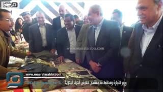 مصر العربية | وزير التجارة ومحافظ قنا يفتتحان معرض الحرف اليدوية