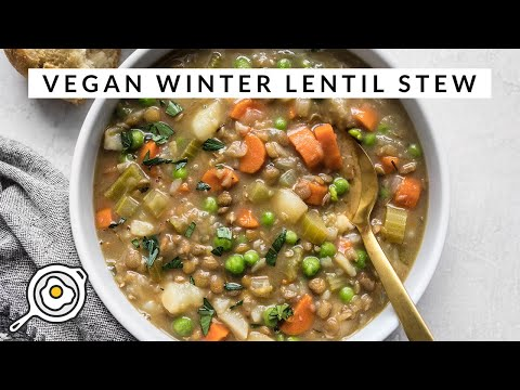 Vegan Winter Lentil Stew