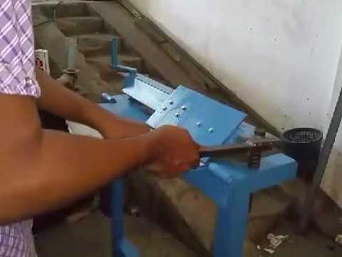 DIY metal sheet bender