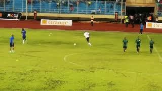 Prematch Training- Liberia Vs Nigeria