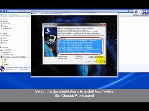 CATIA V5 Online Documentation Install