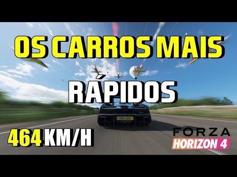 Os carros mais rápidos de Forza Horizon 4 thumbnail