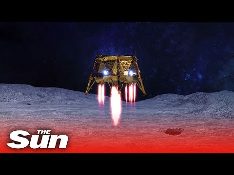 Israeli spacecraft Beresheet crash lands on the moon