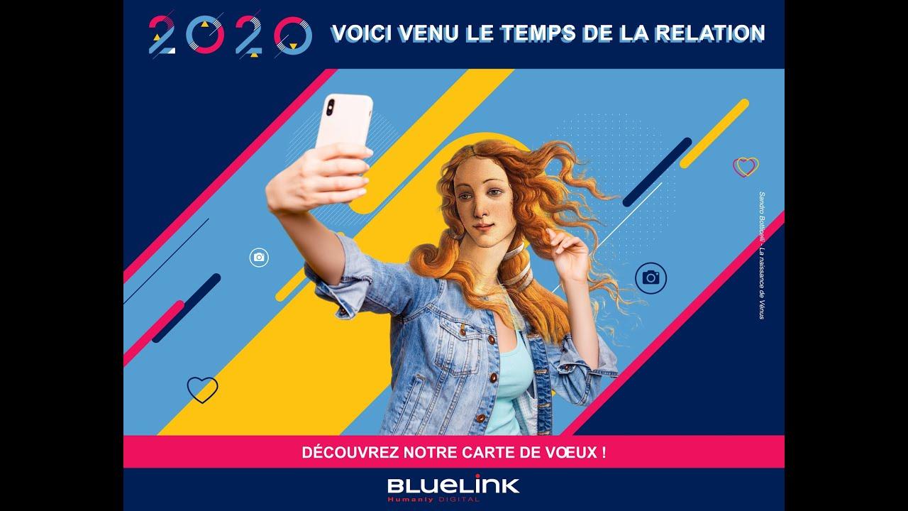 Helloflo - ECard de voeux groupe BlueLink 2020 83211