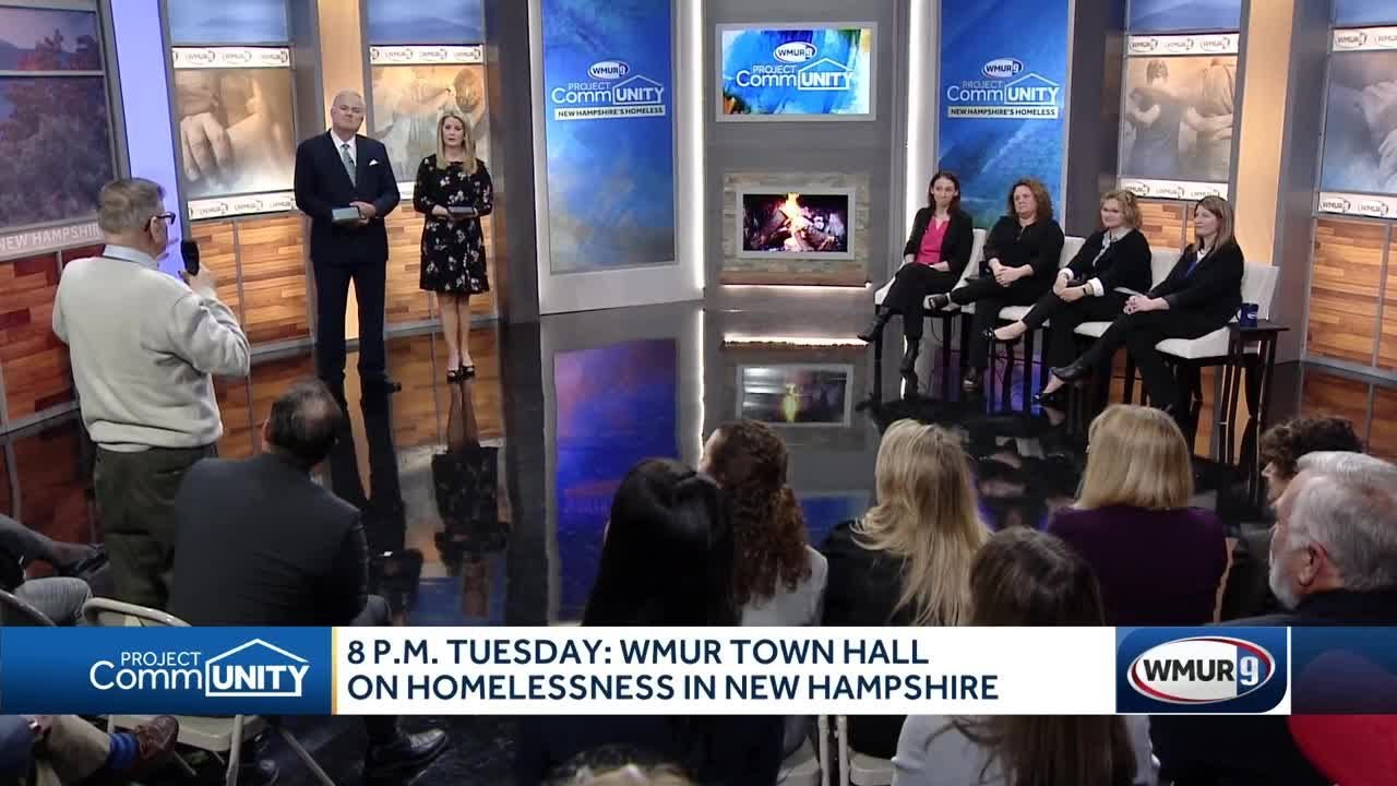 Solutions to homelessness explored in WMUR town hall
