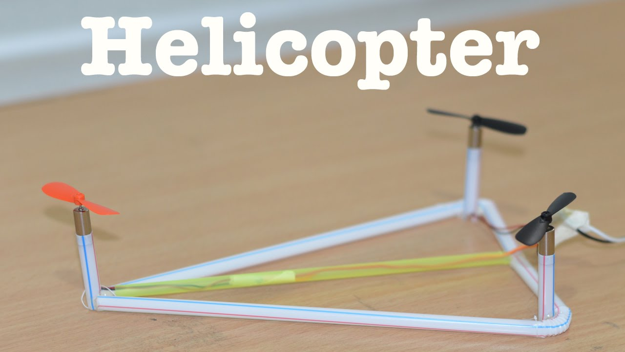 how to make a helicopter diy tricopter youtube